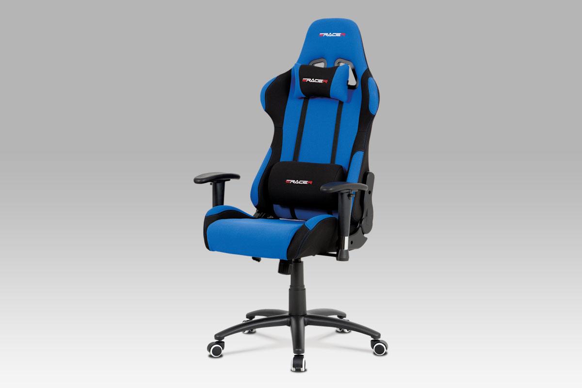 Kancelářská židle Maik, modrá