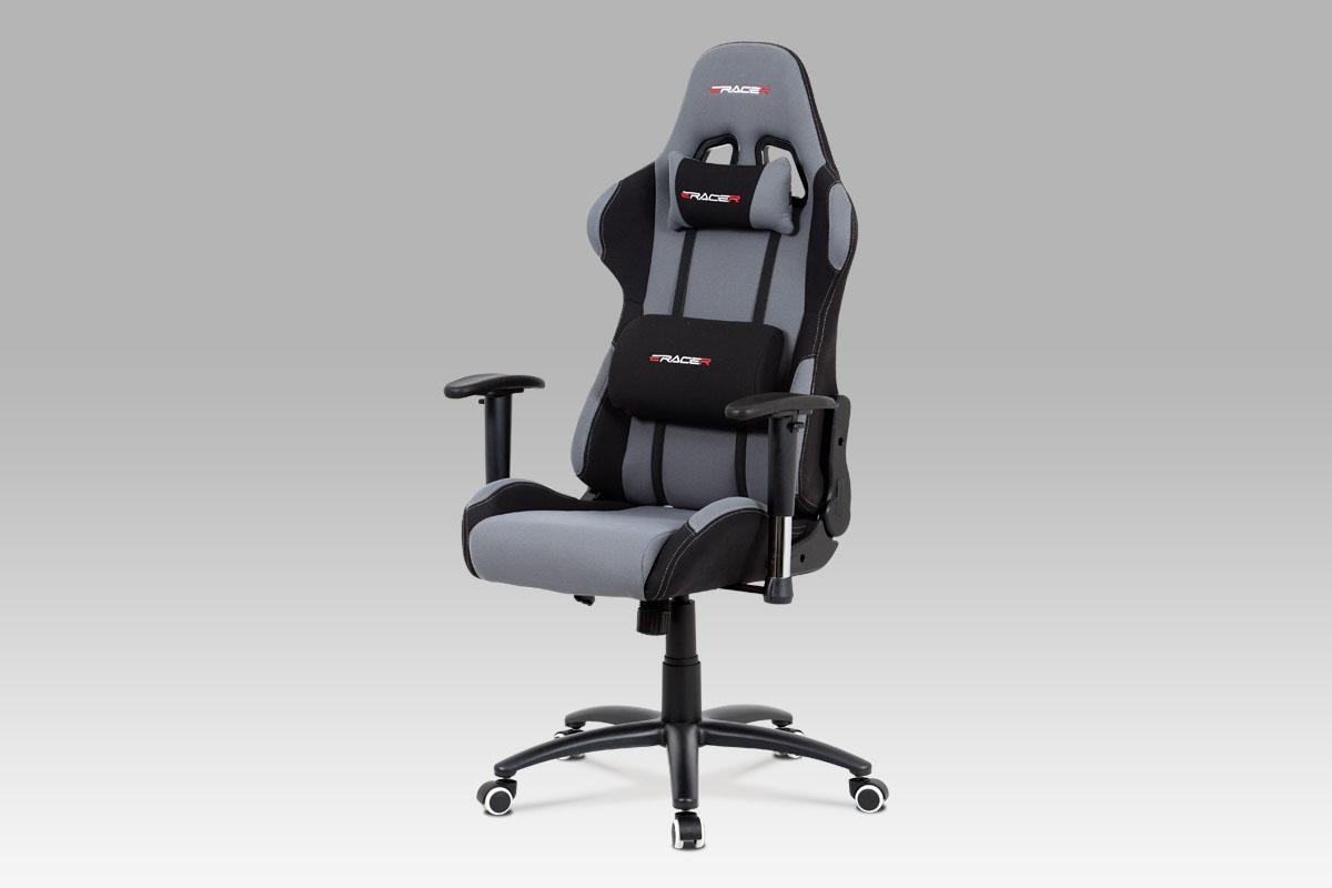 Kancelářská židle Maik, šedá