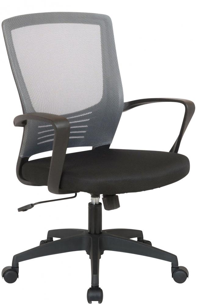 Kancelářská židle Merlin, černá / šedá