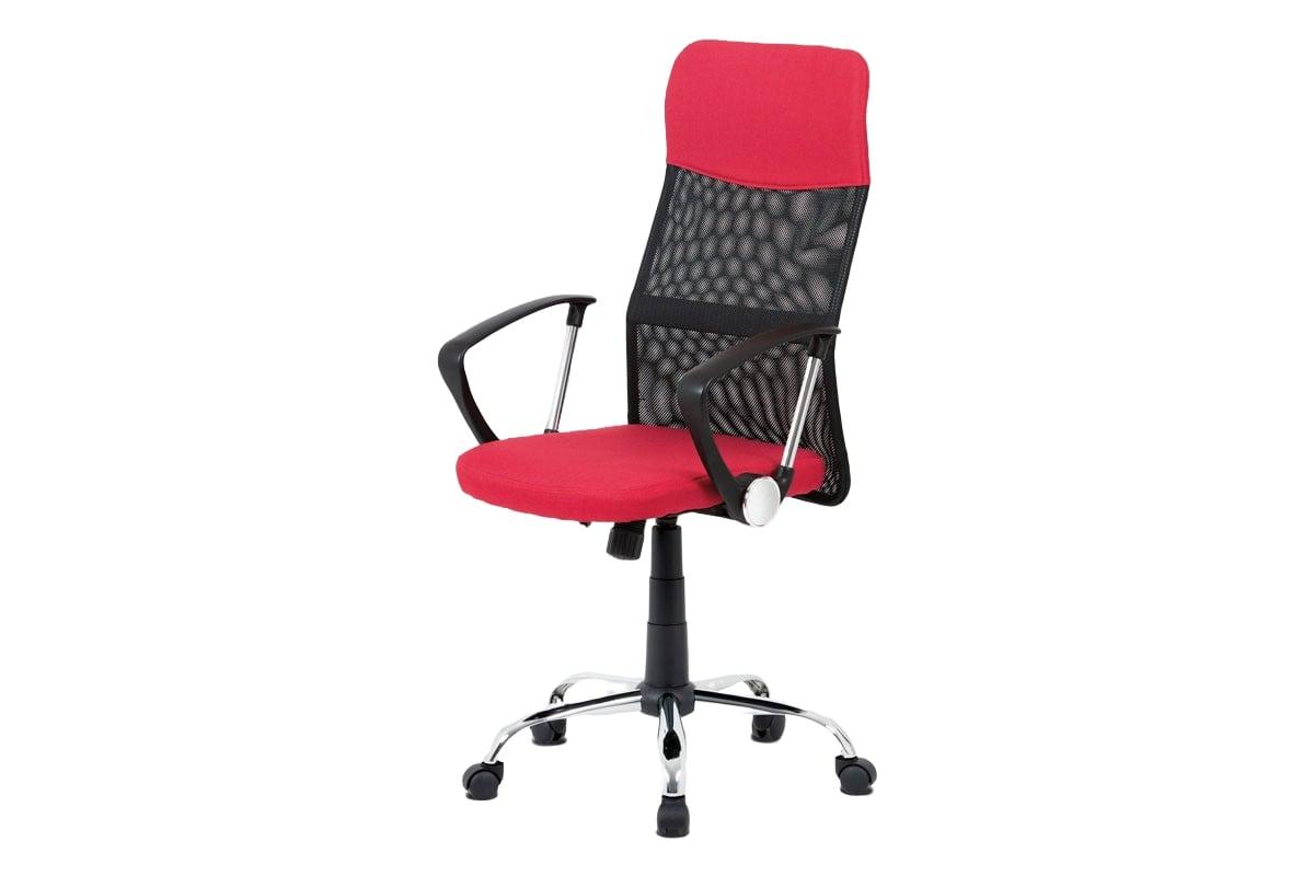 Kancelářská židle Monica, červená / černá