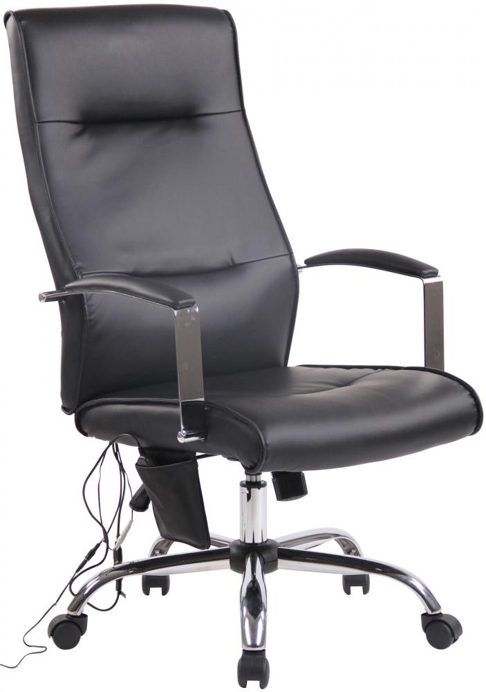 Kancelářská židle Portla, černá