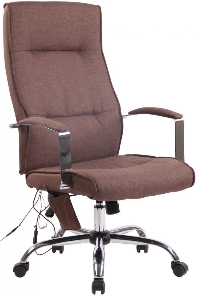 Kancelářská židle Portla, hnědá