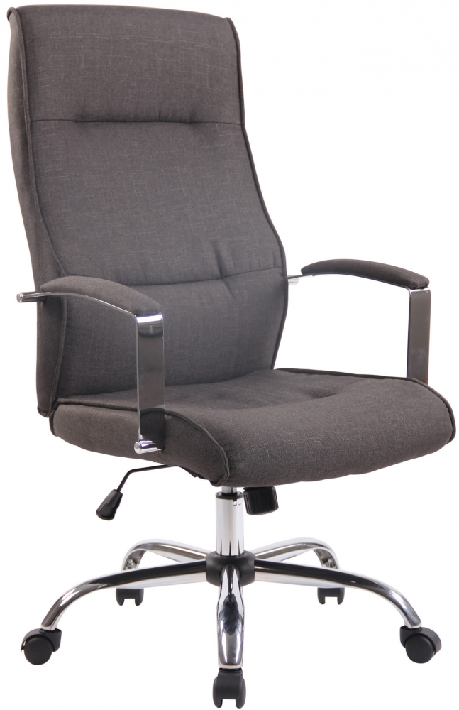 Kancelářská židle Portla, tmavě šedá