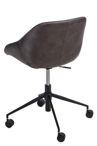 Kancelářská židle Potter, tmavě šedá