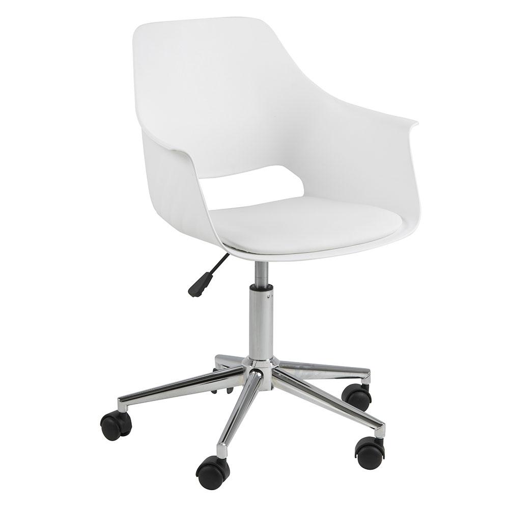 Kancelářská židle Romana, bílá