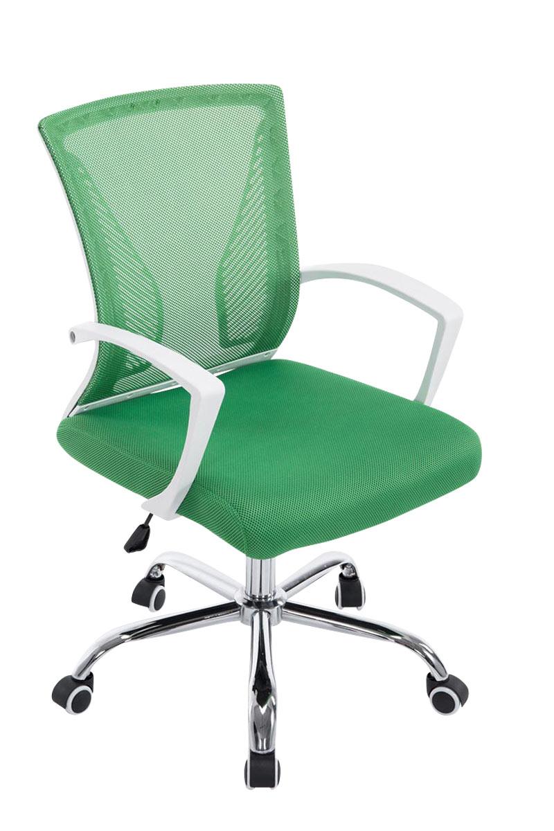 Kancelářská židle s područkami Flade, zelená
