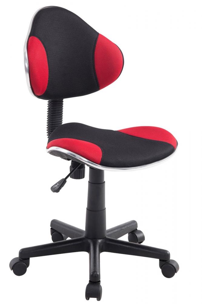 Kancelářska židle Sael, černá / červená