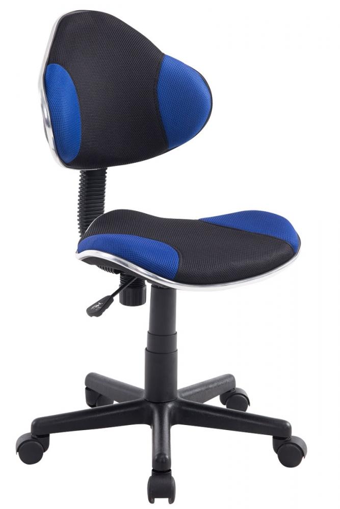 Kancelářska židle Sael, černá / modrá