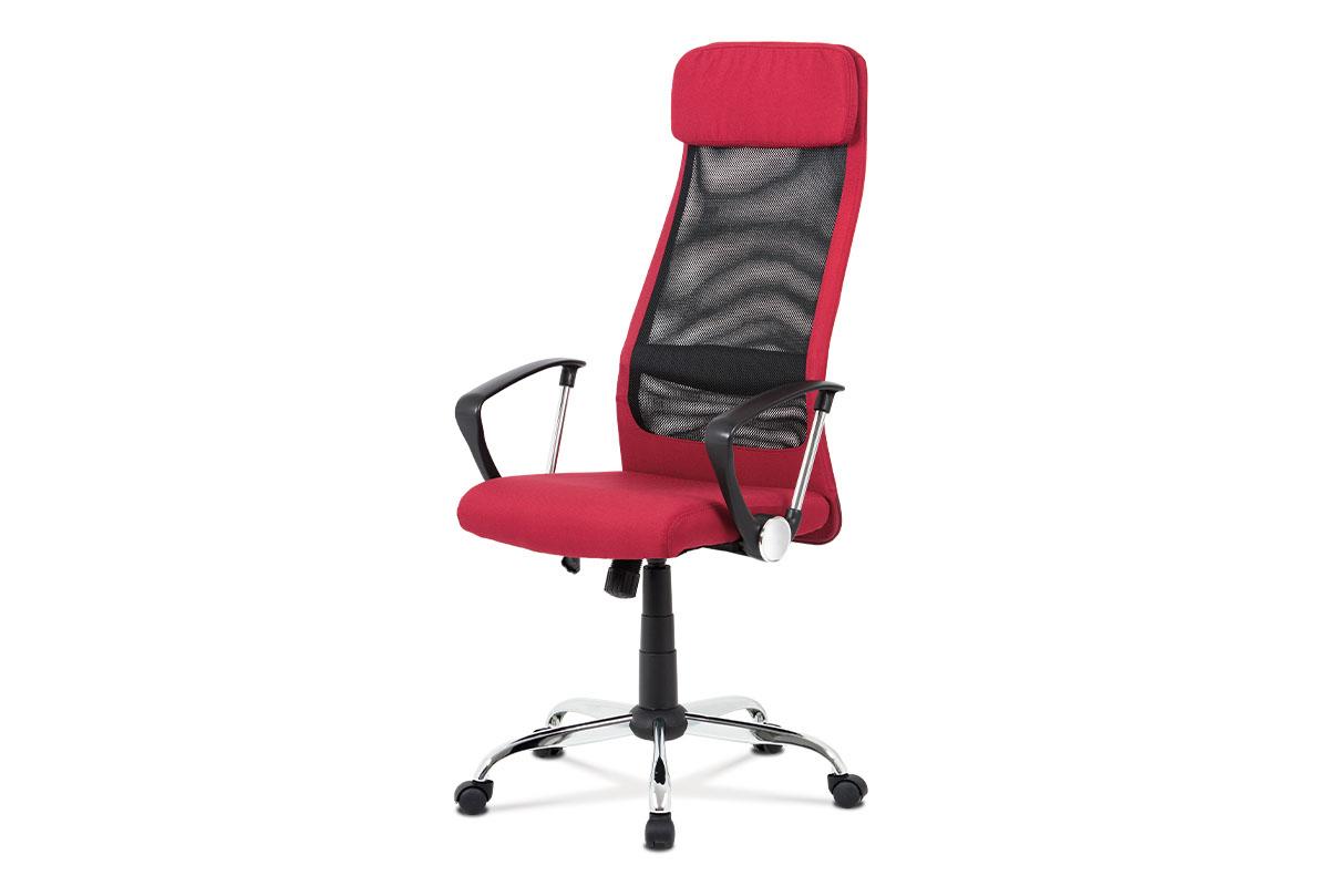 Kancelářská židle Sienna, bordó / černá