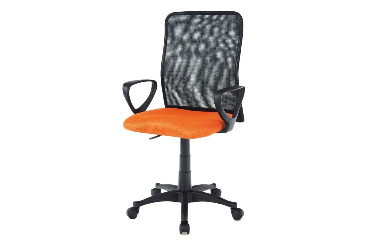 Kancelářská židle Sonja, oranžová/černá