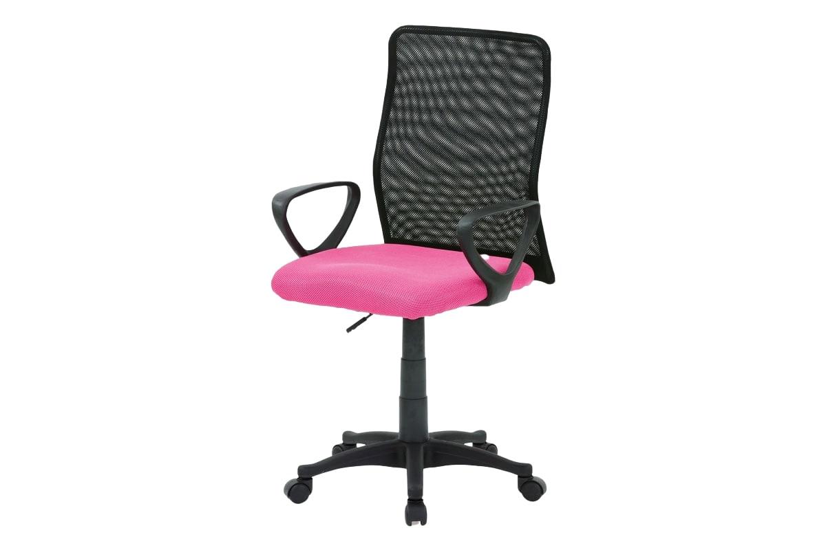 Kancelářská židle Sonja, růžová/černá