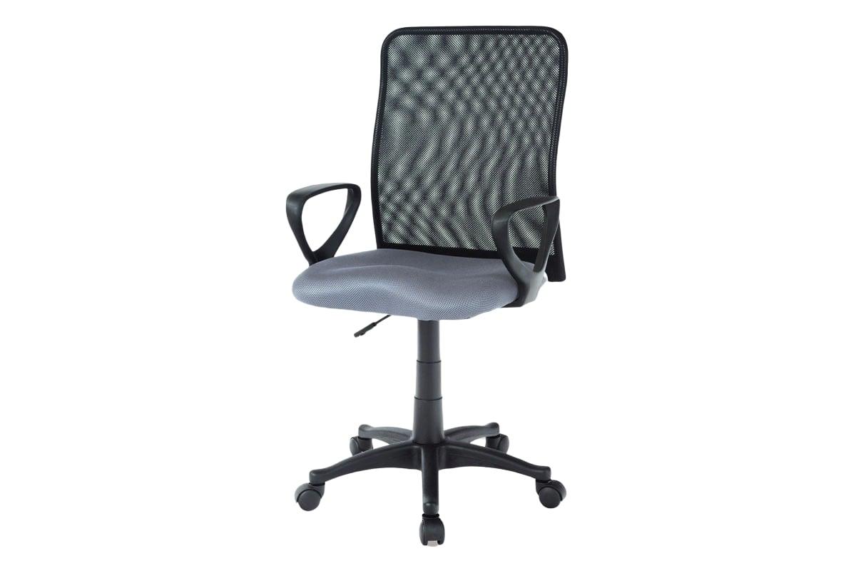 Kancelářská židle Sonja, šedá/černá