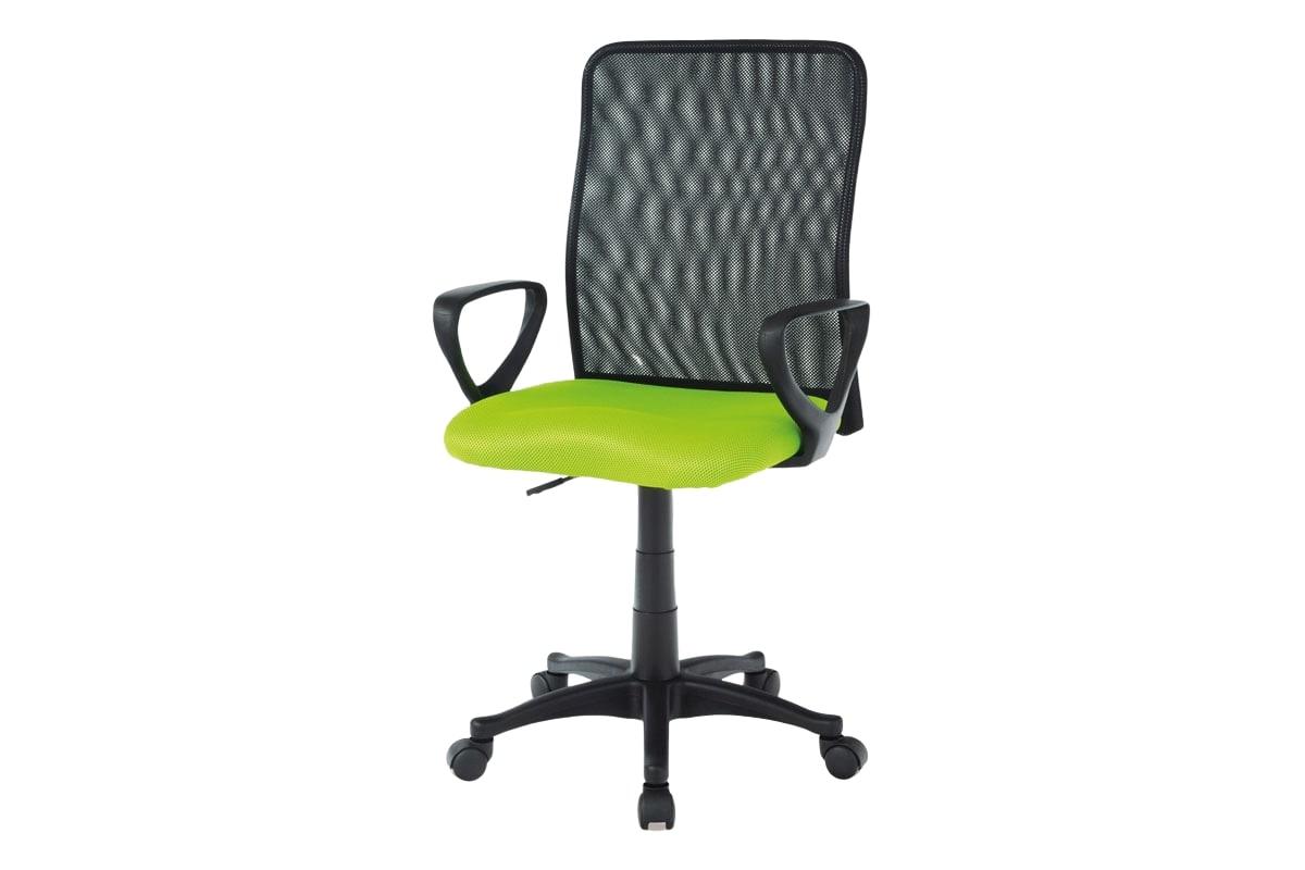 Kancelářská židle Sonja, zelená/černá