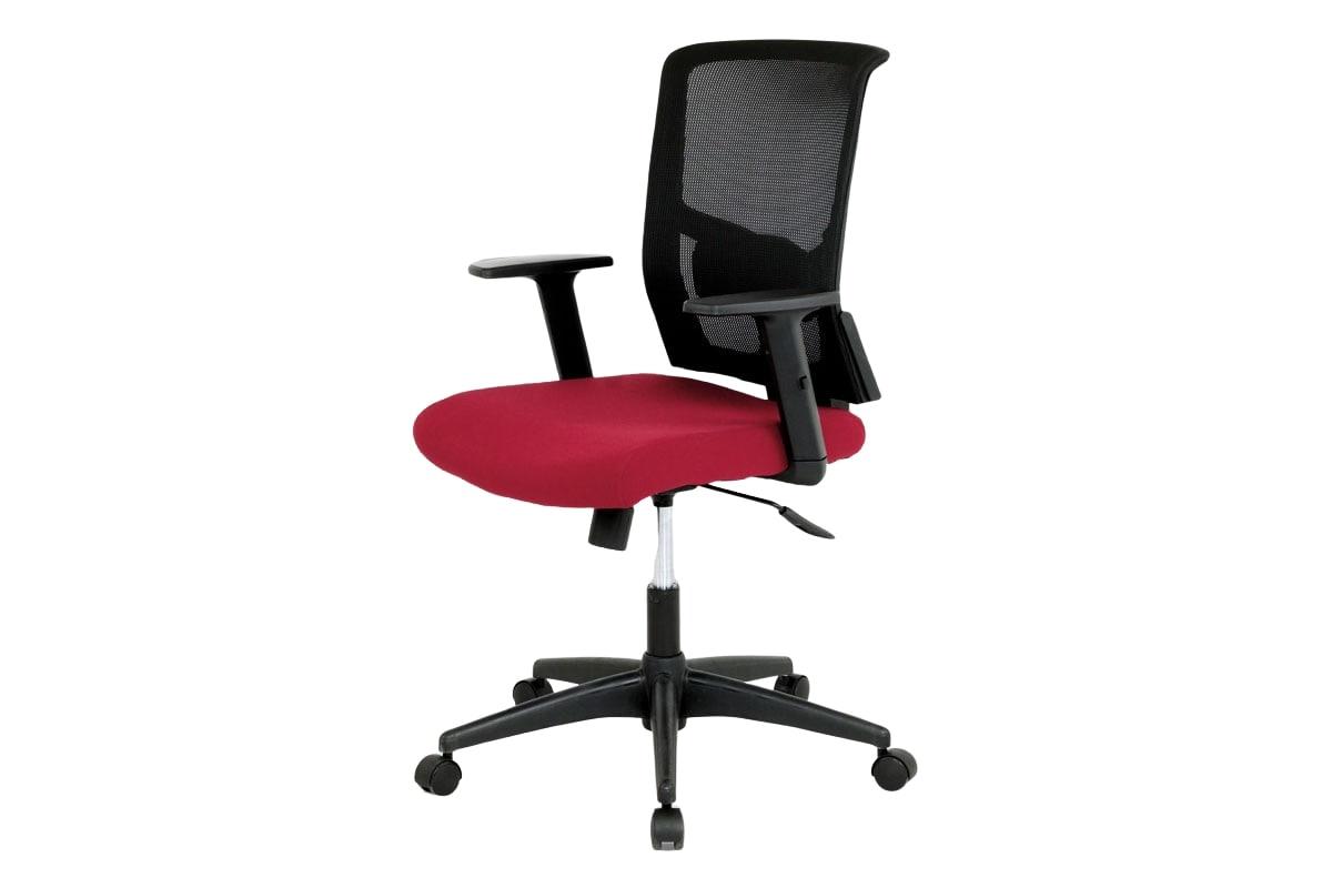 Kancelářská židle Tatiana, vínová/černá