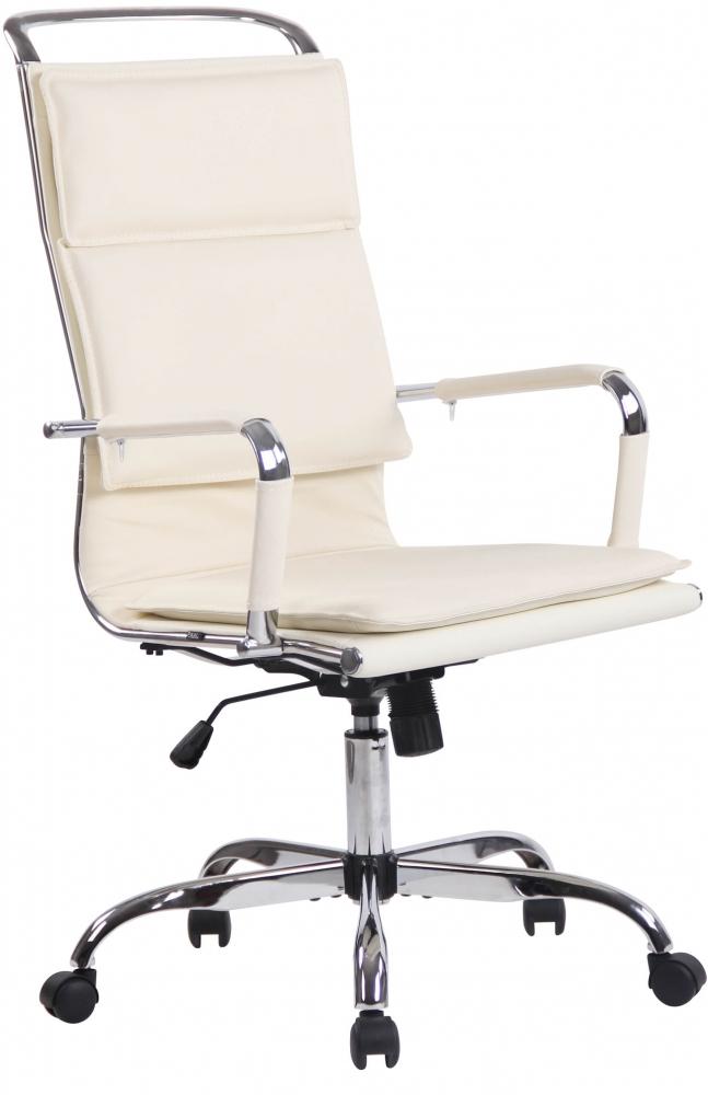 Kancelářská židle Victoria, krémová