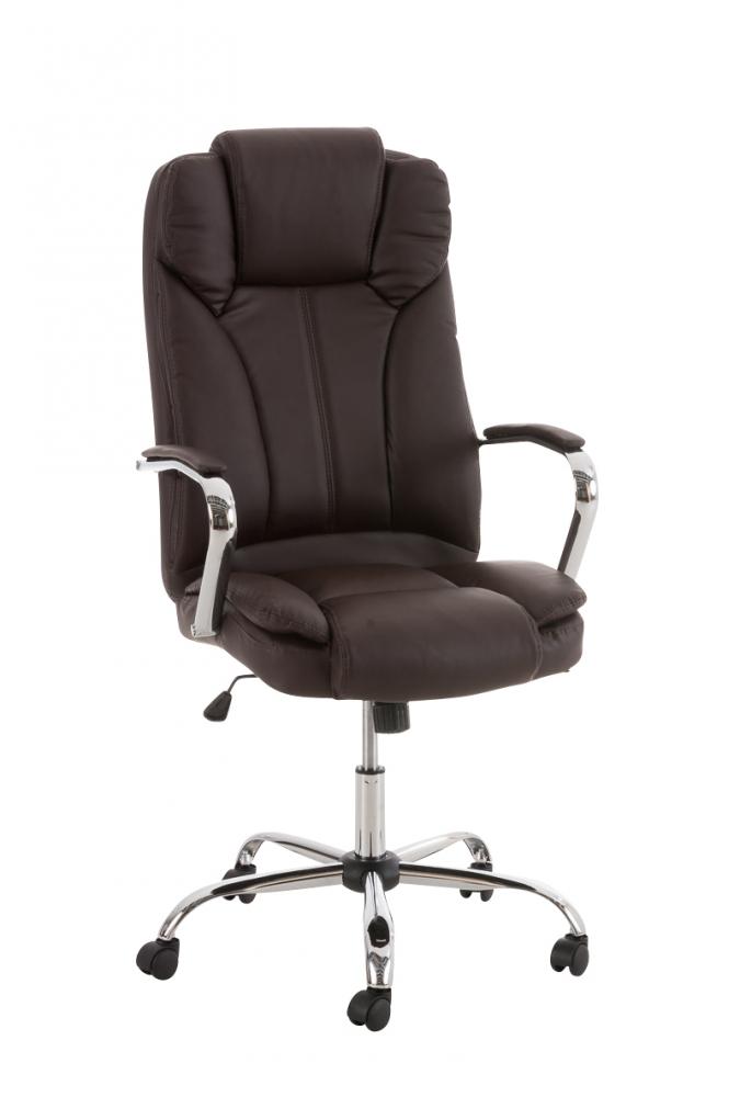 Kancelářská židle Xantho, hnědá