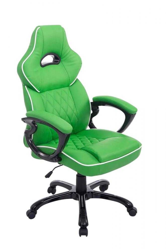 Kancelářské křeslo BIG XXX, syntetická kůže, zelená
