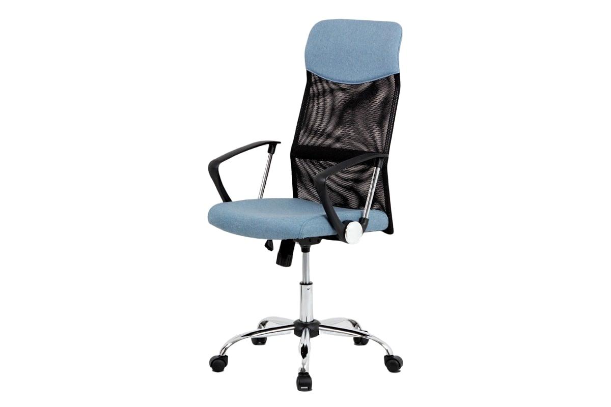 Kancelářské křeslo Chroma, černá/modrá