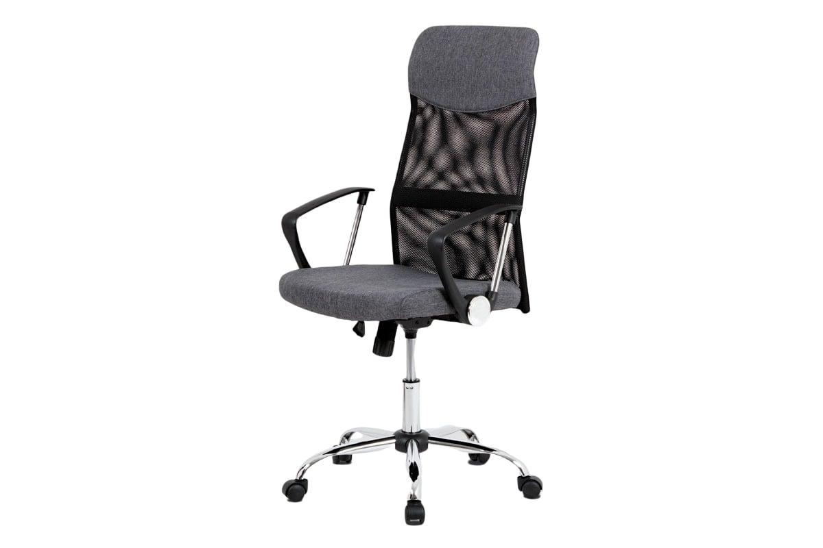 Kancelářské křeslo Chroma, černá/šedá