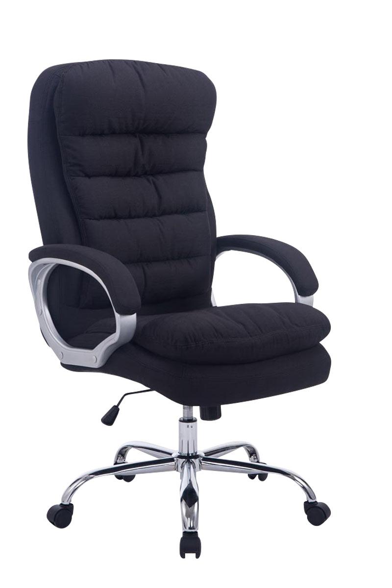 Kancelářské křeslo Flotte XXL textil černá