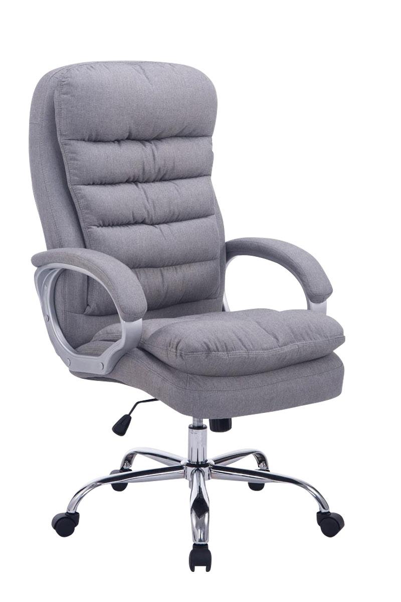 Kancelářské křeslo Flotte XXL textil šedá