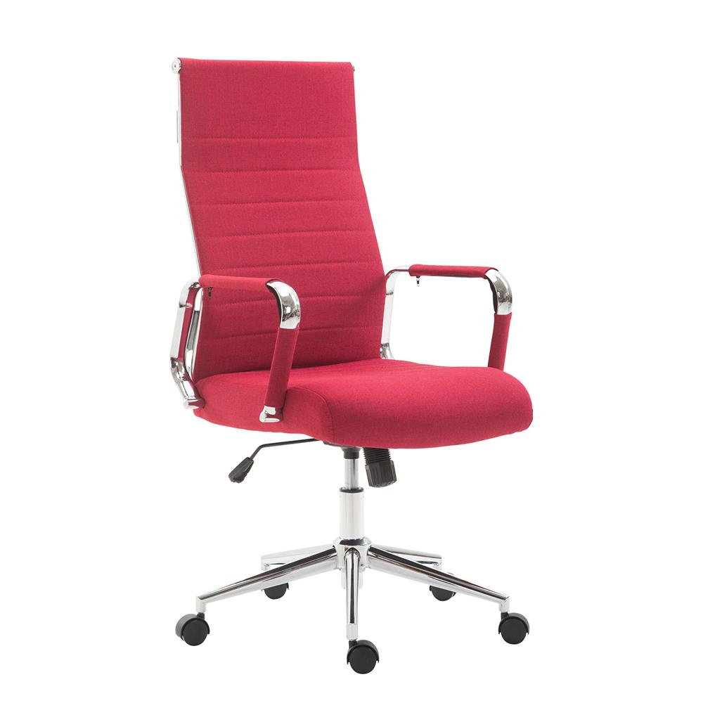 Kancelářské křeslo Maria textil červená
