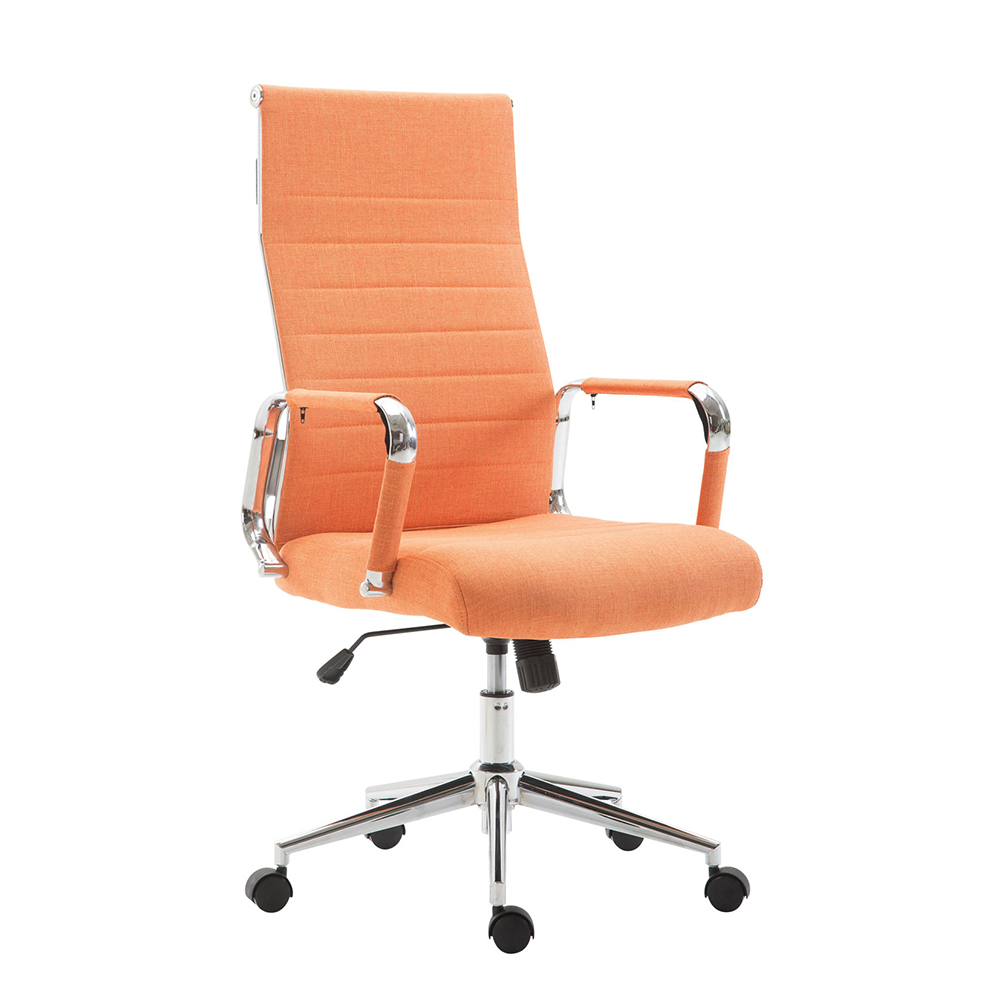 Kancelářské křeslo Maria textil oranžová