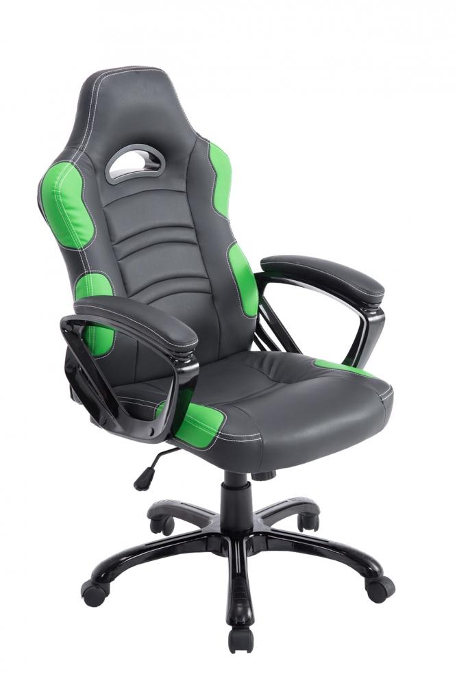 Kancelářské křeslo Ricardo, černá / zelená