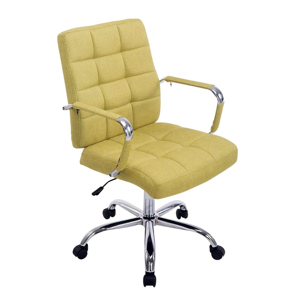 Kancelářské křeslo s područkami Lina 2 textil zelená