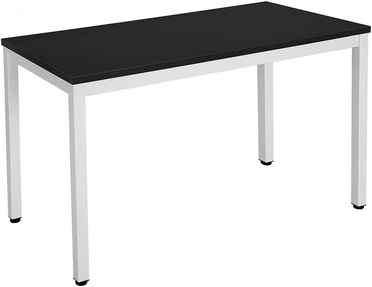 Kancelářský stůl Dolly, 120 cm, bílá / černá