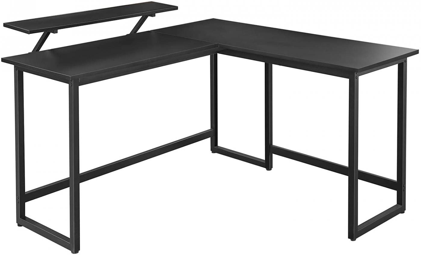 Kancelářský stůl Stella, 140 cm, černá