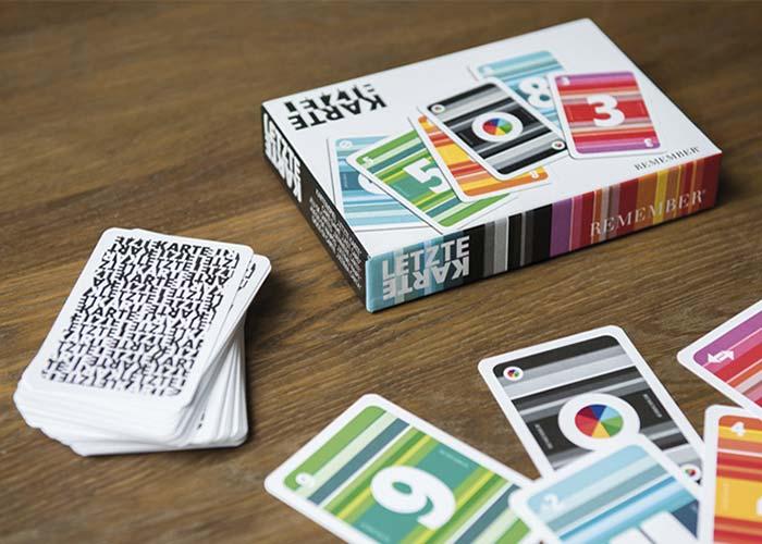Karetní hra Poslední karta Remember