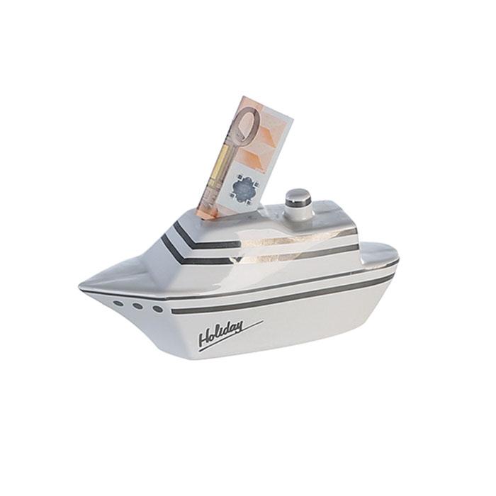 Kasička keramická Ocean Cruiser, 20 cm