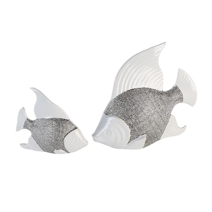 Keramická dekorace ryba Prime, 15 cm