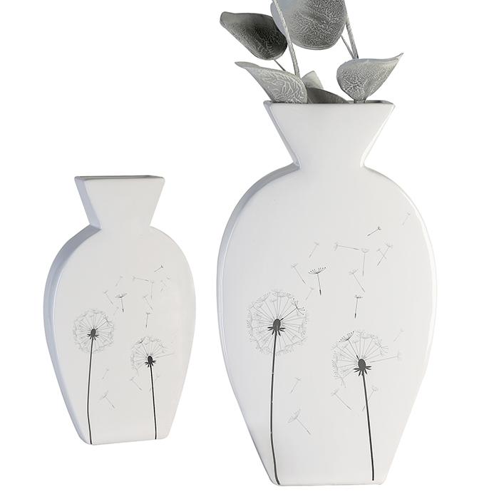 Keramická váza Pampelišky, 24 cm