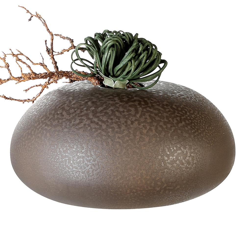 Keramická váza Urban, 35 cm, hnědá