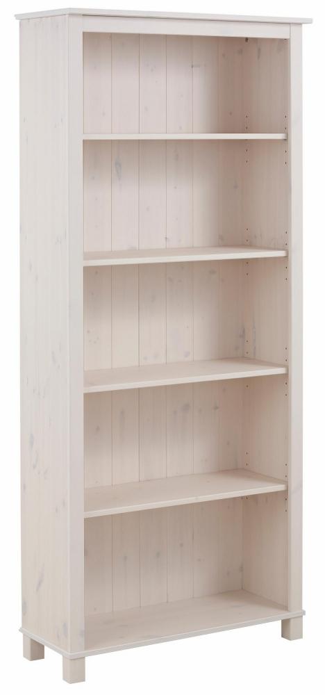 Knihovna Apos, 171 cm, bílá