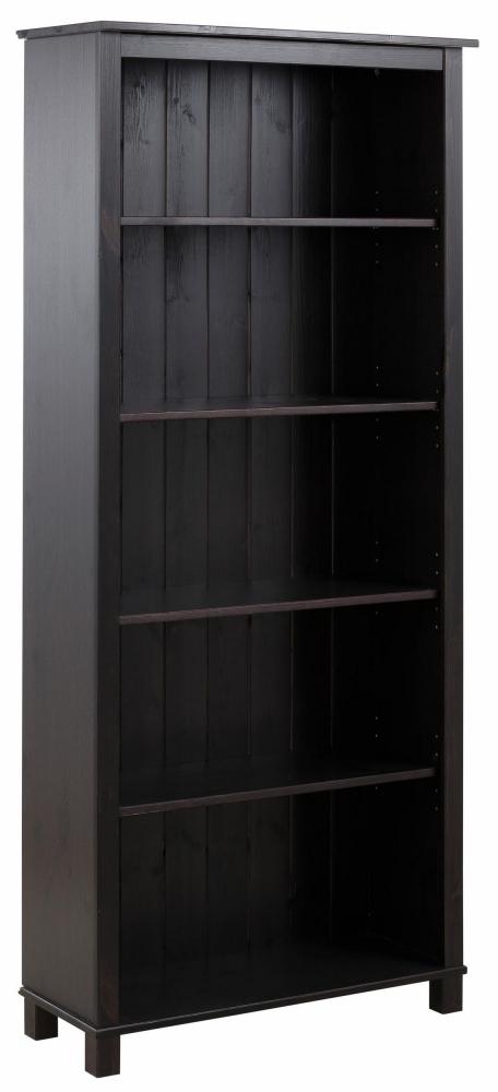Knihovna Apos, 171 cm, hnědá
