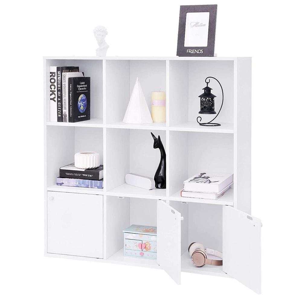 Knihovna Gala, 98 cm, bílá