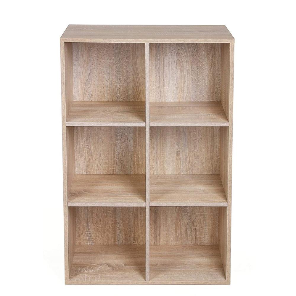 Knihovna Gina, 98 cm, dub