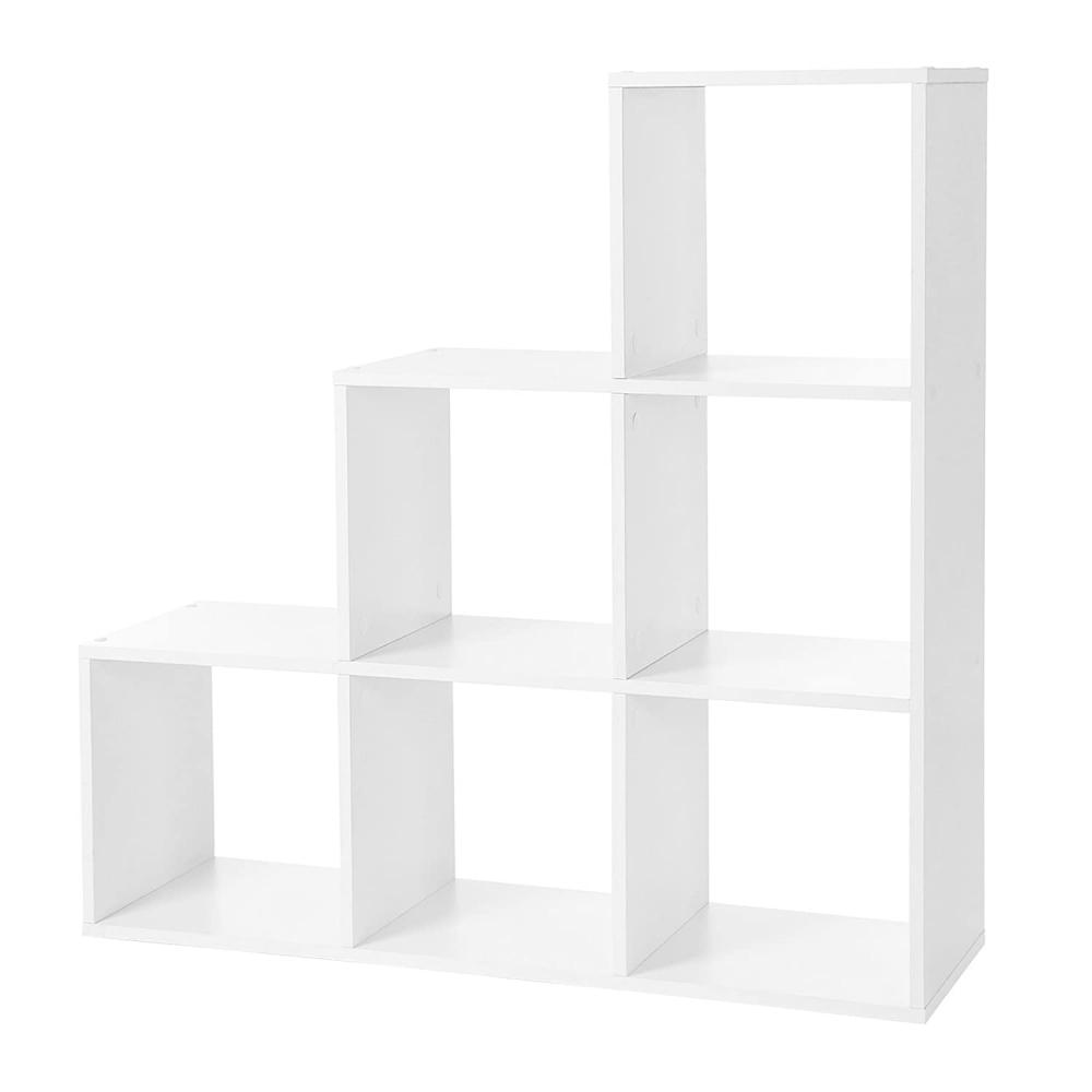 Knihovna Greg, 98 cm, bílá