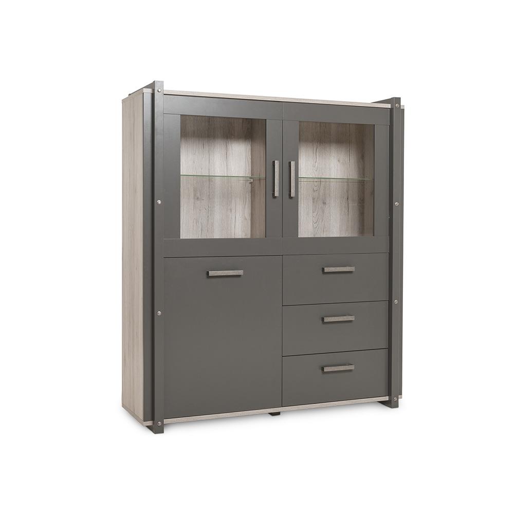 Kombinovaná skříň Detroit, 150 cm