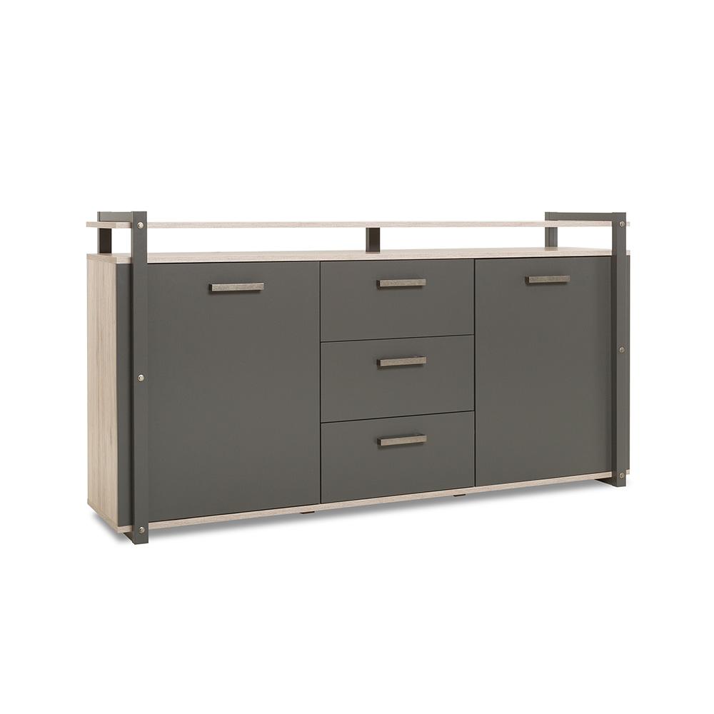 Kombinovaná skříň Detroit, 180 cm