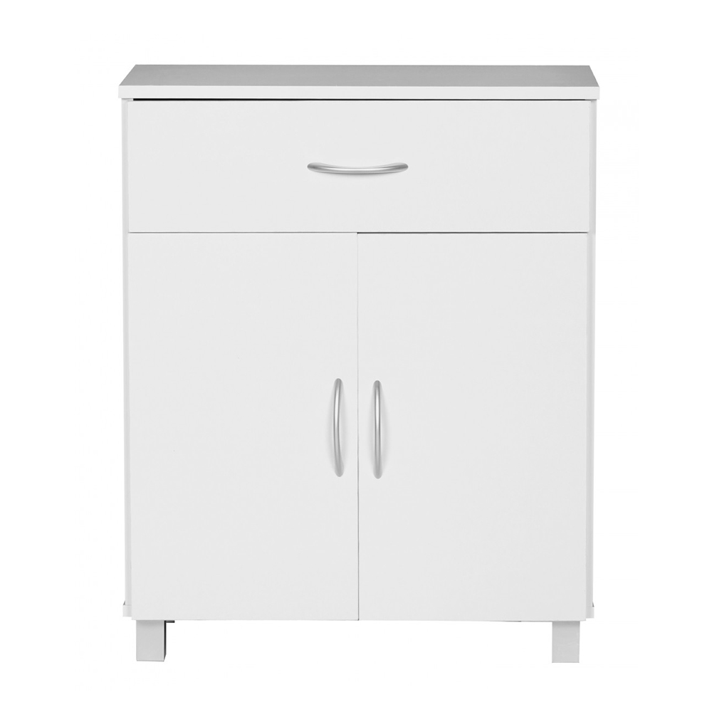 Kombinovaná skříň Jarry, 60 cm, bílá