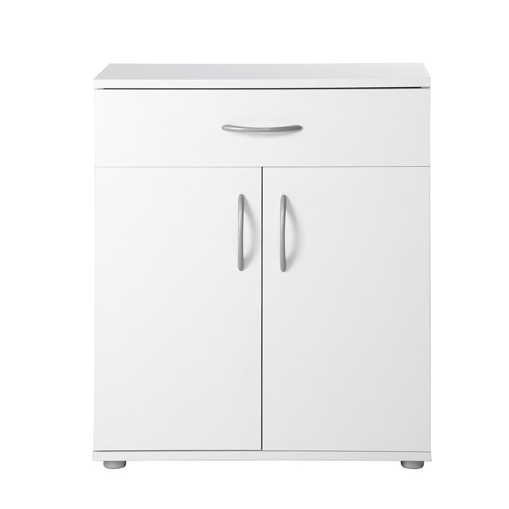 Kombinovaná skříň Oregon, 68,5 cm, bílá