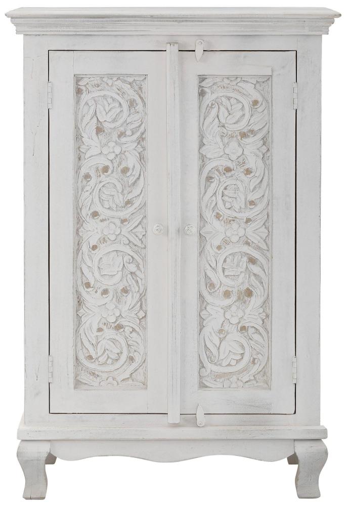 Komoda Radin, 120 cm, bílá