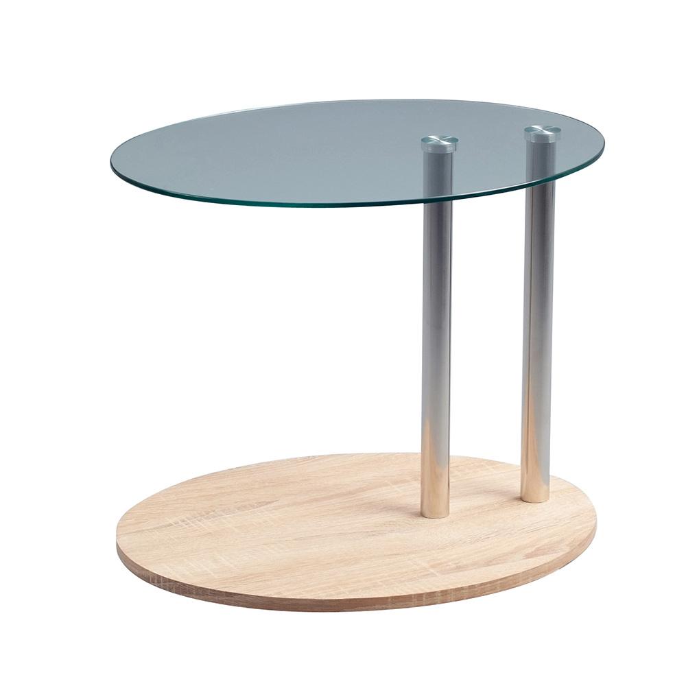 Konferenční / odkládací stolek na kolečkách Kira, 52 cm