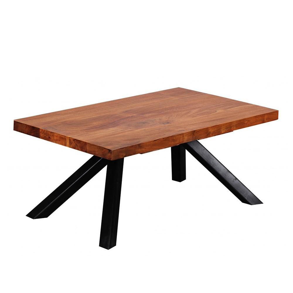 Konferenční stolek Akola, 90 cm, masiv Sheesham