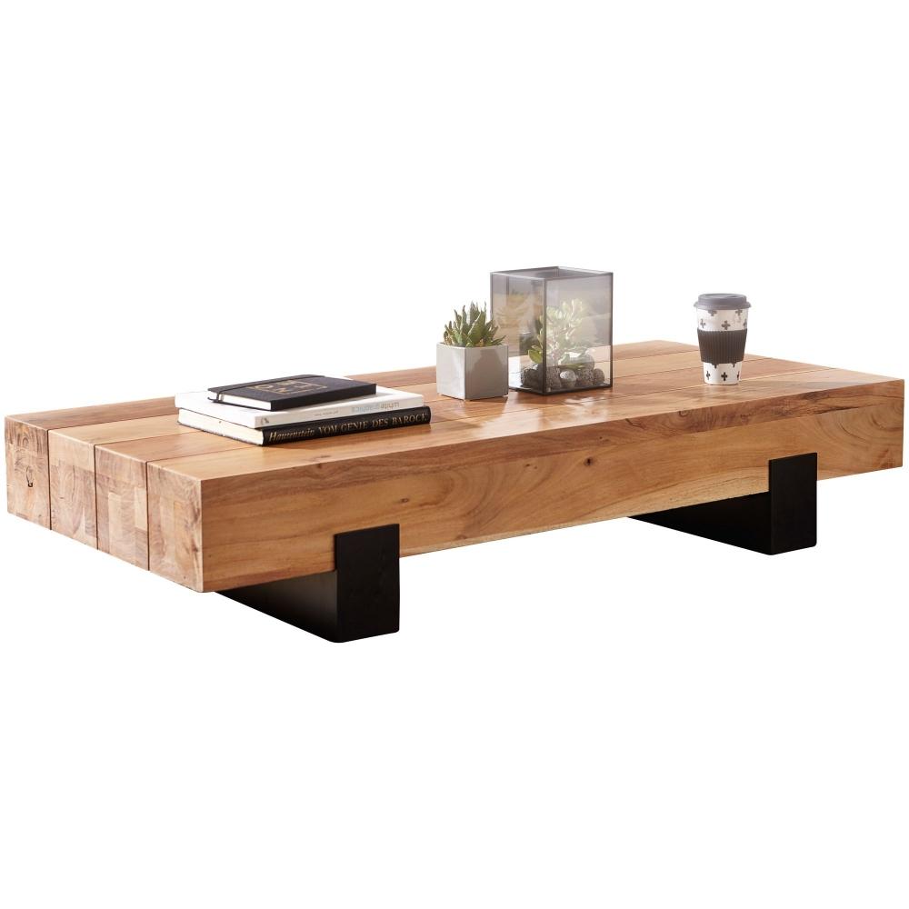 Konferenční stolek Alea, 130 cm, masiv Sheesham