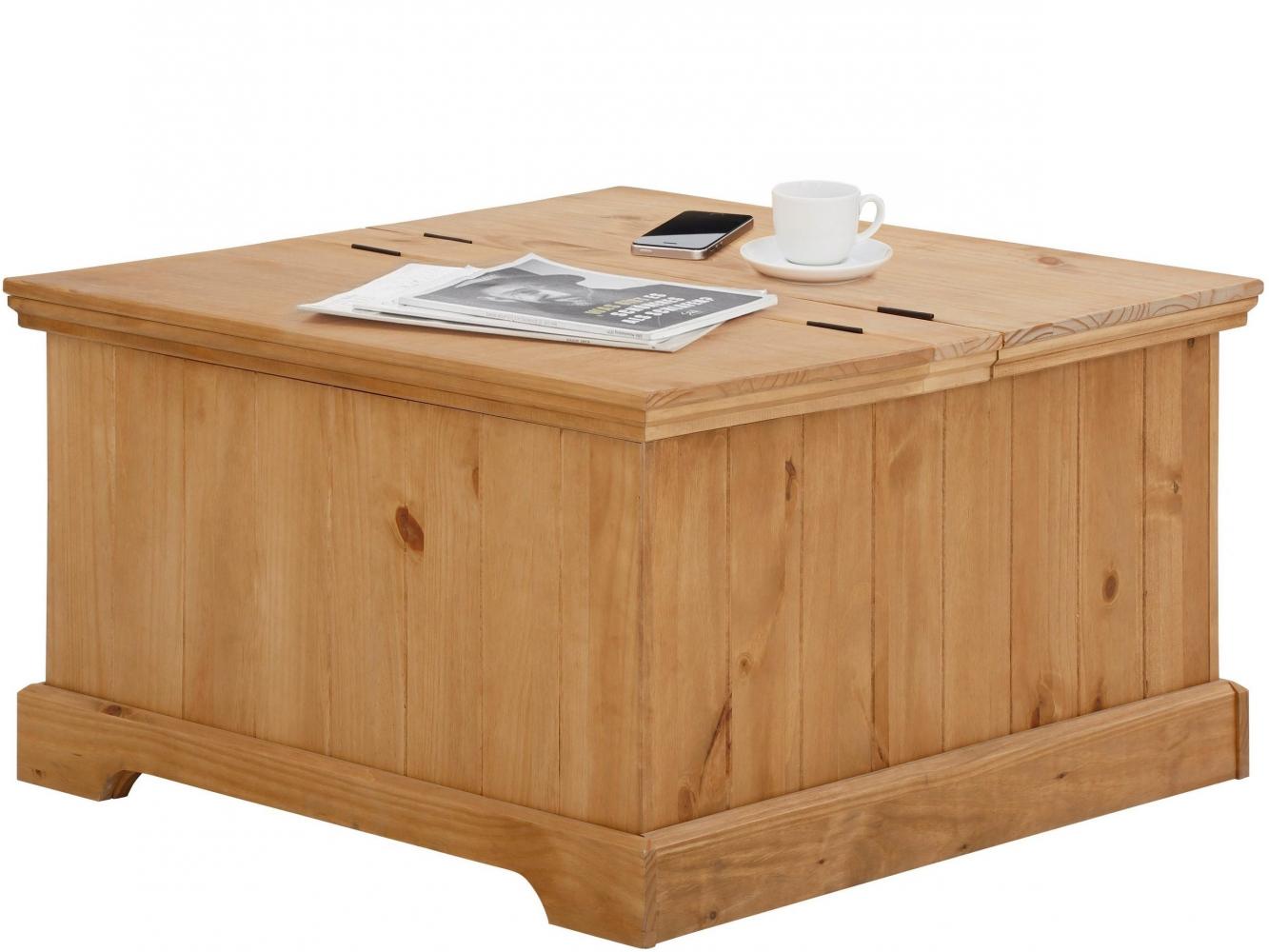 Konferenční stolek Alia, 80 cm, borovice